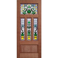 The unique decorative double glazing of the LPD Kensington makes a stunning statement. Made of durable hardwood and mortise and tenon construction, this door is ready to finish with the oil or varnish of your choice. Glazed External Doors, Doors Online, Wooden Front Doors, Internal Doors, Entrance Doors, Exterior Doors, Hardwood, Handmade, Home Decor