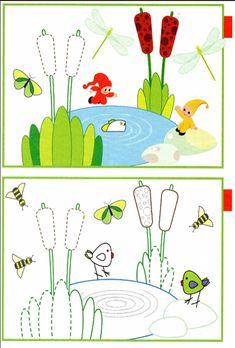 И снова в Школе Семи гномов «Переменка»! На этот раз прекрасное издательство приглашает вашего малыша освоить рисование по клеточкам. И непросто освоить, а сделать это вместе с любимыми персонажами на свежем воздухе! Задания включают в себя: Обводилки по контуру: в прописи предложено обводить жителей прудов и речек, цветы, деревья и многое другое. Дорисовывалки: малышу предстоит нарисовать недостающие детали в картинке. …