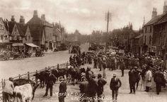Market Day Chipping Sodbury 1912.
