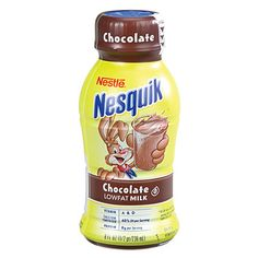 Nestle® Nesquik® Ready-To-Drink Chocolate Milk Nutella Recipes, Snack Recipes, Nestle Chocolate, Low Fat Snacks, Cream And Fudge, Bad Room Ideas, Junk Food Snacks, Grocery Deals, Cute Baby Boy Outfits