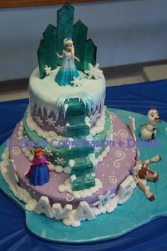 Frozen Birthday Cakes Okc