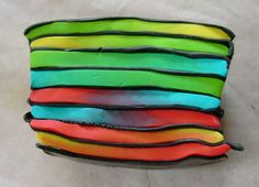 Fimoanleitung Farbenspiel aus ein paar Blends