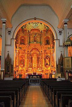 Iglesia de San José, (Iglesia del Altar de Oro), Casco Antiguo (Casco Viejo), Ciudad Vieja, Barrio de San Felipe, patrimonio de la humanidad, Ciudad de Panamá, Panamá, América Central