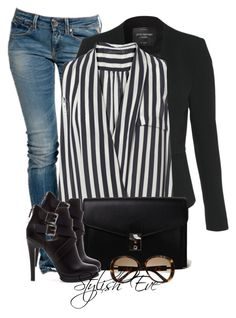 """""""Alaa."""" by stylisheve ❤ liked on Polyvore featuring Replay, Jane Norman, Zara, Akira and Gucci"""