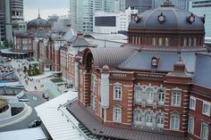 From side. Tokyo Station, Mansions, House Styles, Home Decor, Decoration Home, Manor Houses, Room Decor, Villas, Mansion