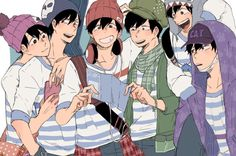 Find images and videos about anime, artwork and osomatsu san on We Heart It - the app to get lost in what you love. Cute Anime Boy, Anime Guys, Osomatsu San Doujinshi, Happy Tree Friends, Ichimatsu, Anime Kawaii, Anime Artwork, Art Reference Poses, Manga