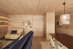 wooden interior design walls and ceiling