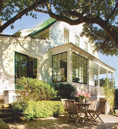 Sensitive restoration/renovation of Sausalito's oldest house by Turnbull Griffin Haesloop...