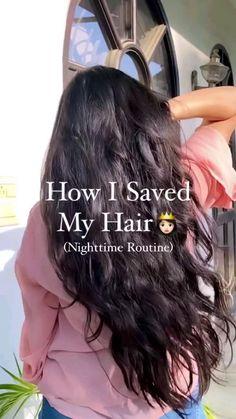 Homemade Hair Treatments, Diy Hair Treatment, Natural Hair Treatments, Hair Tips Video, Long Hair Tips, Hair Growing Tips, Grow Hair, Diy Hair Mask, Healthy Hair Tips