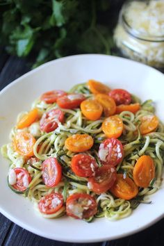 Dashing Dish: 5 Minute Cheesy Zoodles
