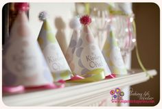 Hot Air Balloon First Birthday party from #Sugarsticks Parties!