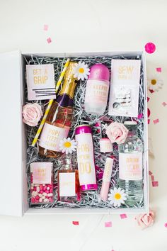Emergency Bride Kit Wedding day kit DIY make your own box bag essentials labels_-12