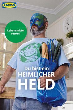 Und fange bei der Aufbewahrung deiner Lebensmittel damit an. 💪🏻 Mens Tops, T Shirt, Fun, Ikea Kitchen, Heroes, Foods, Supreme T Shirt, Tee, Lol