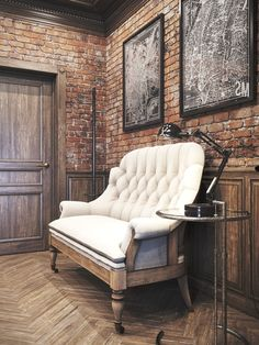 12 Easy Vintage Industrial Decor Designs For Your Urban Living Space  Vintage office   #homeindustrialdecor #industrialapartments #industrialdecor