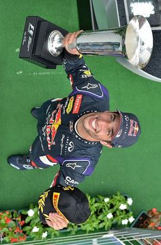 Daniel Ricciardo has to have one of the biggest smiles I've ever seen. They are contagious :)