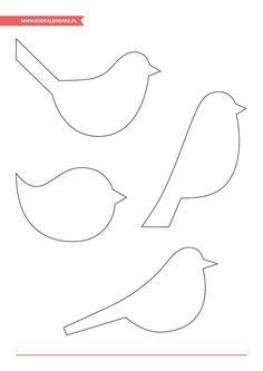 Bird Crafts, Clay Crafts, Felt Crafts, Paper Crafts, Paper Birds, Fabric Birds, Art For Kids, Crafts For Kids, Sewing Crafts