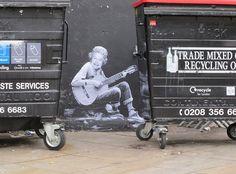By Mr Fahrenheit Mr Fahrenheit, London Wall, Art Icon, London Street, Screen Shot, Baby Strollers, Street Art, Recycling, Children