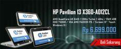 HP Pavilion 13 x360-a012cl, Pesan Sekarang disini-> http://ow.ly/H9tdb