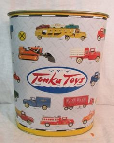 Vintage Tonka Toys Garbage Can by EastIdahoCompany on Etsy, $60.00