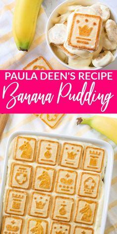 Banana Pudding Desserts, Easy Pudding Recipes, Easy Banana Pudding, Banana Recipes, Just Desserts, Delicious Desserts, Dessert Recipes, Yummy Food, Banana Pudding Cheesecake