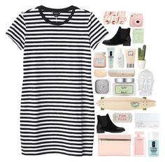 """""""WHATS HATNIN!"""" by snowflakes-in-summer ❤ liked on Polyvore featuring Monki, Victoria Beckham, Laura Mercier, Narciso Rodriguez, Clinique, HAY, NARS Cosmetics, Sector 9, Fresh and Karlsson"""