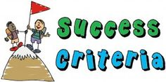 Success Criteria and learning goals explained