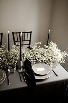 Decoration Table, Table Centerpieces, Centerpiece Flowers, Winery Wedding Centerpieces, Black Centerpieces, Graduation Centerpiece, Quinceanera Centerpieces, Centerpiece Ideas, Monochrome Weddings