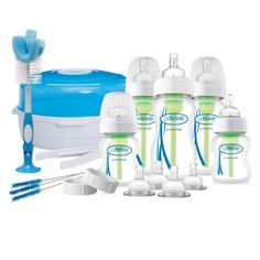 The Dr Browns Options Deluxe New Born Gift Set has everything you need for your newborn baby. Baby Feet Peel, Dr. Brown, The New Doctor, Baby Bottle Sterilizer, Solids For Baby, Brown Bottles, Browns Gifts, Baby Gift Sets, Bottle Feeding
