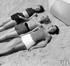 50's beach fashion