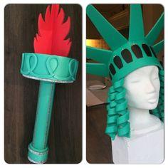 Vrijheidsbeelden Crazy Hat Day, Crazy Hats, Foam Crafts, Arts And Crafts, Costume Wigs, Costumes, Wig Hat, Preschool Activities, Bows