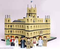Downton Abbey in Legos