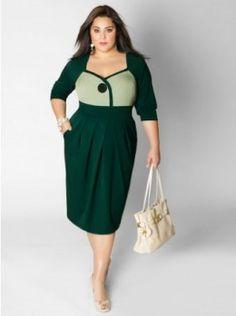 City Chic - LADY LUXE DRESS - Women's Plus Size Fashion | Moda ...