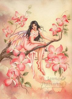 Fairy and Fantasy art by Janna Prosvirina - Sweet Melancholy by Kuoma on deviantART Fairy Dust, Fairy Land, Fairy Tales, Dragons, Fairy Pictures, Butterfly Fairy, Love Fairy, Beautiful Fairies, Magical Creatures