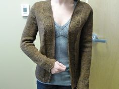 Ravelry: Project Gallery for The Cooke Cardigan pattern by Amy Herzog