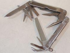 original LEATHERMAN USA TOOL MULTITOOL PULSE WERKZEUG MESSER SCHERE OUTDOOR TOP in Heimwerker, Werkzeug, Messer | eBay
