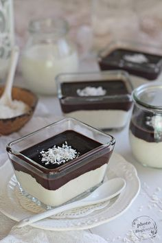 Desserts In A Glass, Sweet Desserts, Breakfast Recipes, Dessert Recipes, Trifle, Cake Cookies, Cheesecake, Food And Drink, Cooking Recipes