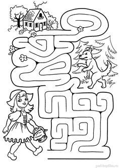 Farm Animals Preschool, Preschool Colors, Preschool Writing, Preschool Crafts, English Worksheets For Kids, Kids Math Worksheets, Kids Learning Activities, Preschool Activities, Mazes For Kids Printable