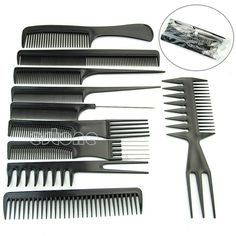 Practical Barber Hair Razor Comb Scissor Tools Bangs Brush Hairdressing Trimmers Hair Shaving Blades Cutting Thinning Beauty Styling Top Watermelons Home Appliance Parts Personal Care Appliance Parts