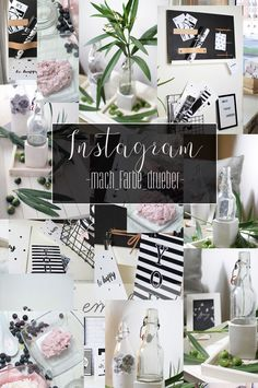 Sammlung von meinem Blog und meinem Instagram. Kleine Zusammenfassung in Bildern Memo Boards, Box, Party, Instagram, Summary, Deco, Colors, Crafting, Snare Drum