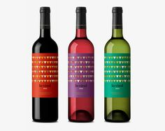 An idea. Taking different wine bottles and applying quotes or sayings pertaining to event over the label. Lo virol by Dorian , via Behance wine / vinho / vino Wine Bottle Design, Wine Label Design, Beverage Packaging, Bottle Packaging, One Glass Of Wine, Photography Logo Design, Wine Drinks, Alcoholic Drinks, Wine And Spirits