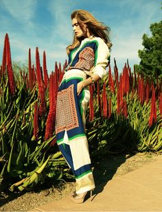Golden Girl: Malgosia Bela by Greg Kadel for Numéro #122 April 2011