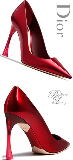 Brilliant Luxury * Dior Pump Fall 2015-16                                                                                                                                                                                 More