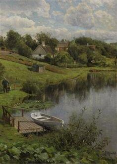 Høsterkøb By Peder Mork Monsted ,1938