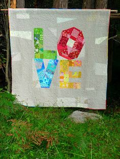 Blue Mountain Daisy: The Love Quilt