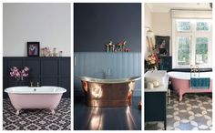 My inspiration and ideas for how I'd like my dream bathroom to look. Dream Bath, Clawfoot Bathtub, Bathroom Inspiration, Master Bathroom, Ideas, Home, Master Bath, Ad Home, Master Bathrooms