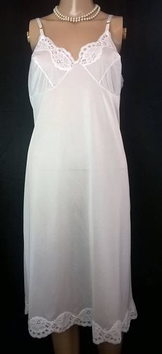 9a0185d61fa Shadowline Stretch Lace Strap Full Slip Size 44 24 White 24 White