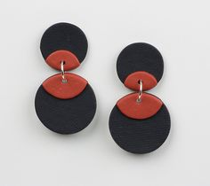 Coco Earrings by Klara Borbas (Polymer Clay Earrings) | Artful Home