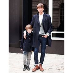Father & son. #MensFashionPost Follow: @mensfashion @mensfashion @mensfashion