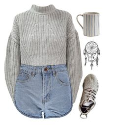 """""""Başlıksız #292"""" by young-stylist ❤ liked on Polyvore featuring Boohoo"""