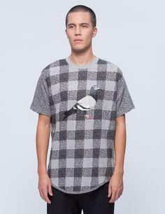 Staple Check Pigeon T-Shirt